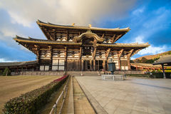 Todaiji-Tempel in Nara, Japan Stockfotografie