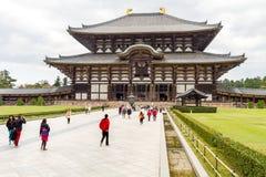 Todaiji Tempel in Nara, Japan redaktionell lizenzfreies stockbild