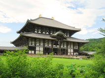 Todaiji temple Stock Photo