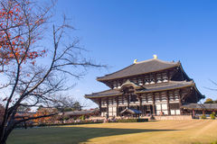 Todaiji temple in Nara city, Japan Stock Image