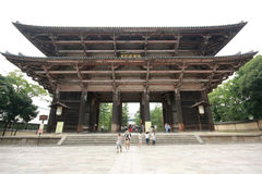 Todaiji Temple in Nara, Japan Stock Photos