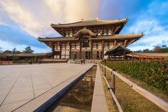 Todaiji Temple in Nara, Japan Stock Photography
