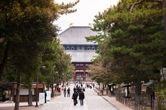 Todaiji Temple - Nara - Japan Royalty Free Stock Image