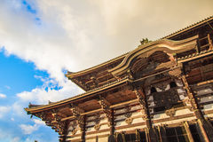 Todaiji Temple in Nara , Japan Royalty Free Stock Photos
