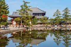 Todaiji Temple in Nara Stock Photography