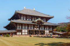Todaiji Temple in Nara Stock Photo