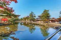 Todaiji Temple in Nara Stock Photo