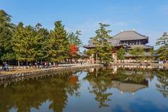 Todaiji Temple in Nara Royalty Free Stock Photos