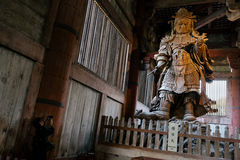 Todaiji Temple in Nara - Japan. Stock Photography