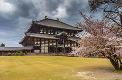 Todaiji Temple in Nara Japan Stock Photography