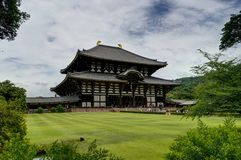 Todaiji Temple in Nara , Japanr royalty free stock photography