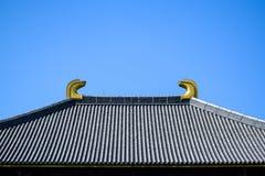 Todaiji temple's roof Royalty Free Stock Photos