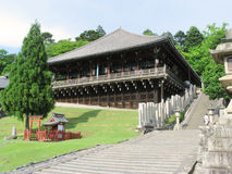 Todaiji temple structures Royalty Free Stock Image