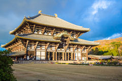 Todaijitempel in Nara, Japan stock afbeelding