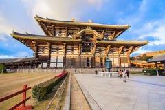 Todaijitempel in Nara, Japan royalty-vrije stock afbeeldingen
