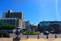 Todak Kota Kinabalu de dataran de Jalan photographie stock