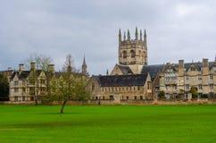Todas as almas faculdade, Oxfordshire, Reino Unido, Europa imagens de stock royalty free