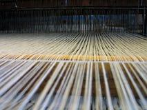 Todas as cordas anexadas - sumário de matéria têxtil Imagens de Stock