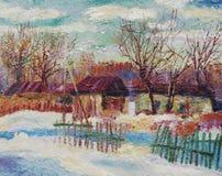 Todas as cores do inverno Fotografia de Stock Royalty Free