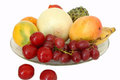 Todas as frutas fotografia de stock royalty free