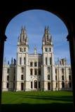 Todas las almas universidad, Oxford Fotografía de archivo
