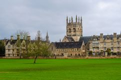 Todas las almas universidad, Oxfordshire, Reino Unido, Europa imágenes de archivo libres de regalías