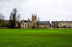 Todas las almas universidad, Oxfordshire, Reino Unido, Europa foto de archivo
