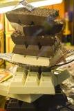 Todas las clases de chocolate. Foto de archivo libre de regalías