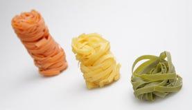 Todavía alimento de la vida con las pastas italianas imágenes de archivo libres de regalías