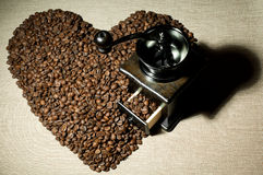 Todavía café de la vida Fotografía de archivo libre de regalías