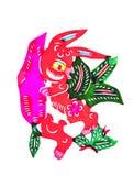 Todavía categorías: Papel-corte chino del zodiaco Imagen de archivo libre de regalías
