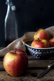 Todavía composición de la manzana de la vida Fotos de archivo