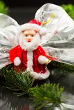 Todavía composición de la vida con las decoraciones de la Navidad Imagen de archivo libre de regalías