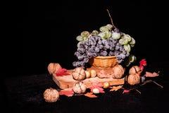 Todavía composición de la vida con las frutas y verduras Foto de archivo libre de regalías