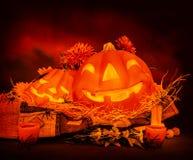 Todavía de Halloween vida Imagenes de archivo