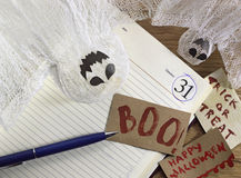 Todavía de Halloween vida en la oficina 2 Imagenes de archivo