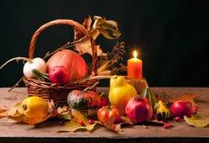 Todavía de la acción de gracias vida Imagen de archivo libre de regalías
