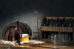 Todavía de la cerveza vida Foto de archivo libre de regalías