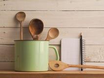Todavía de la cocina vida casera, estilo del vintage Fotografía de archivo libre de regalías
