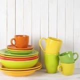 Todavía de la cocina vida colorida Foto de archivo libre de regalías