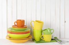 Todavía de la cocina vida colorida Imagen de archivo