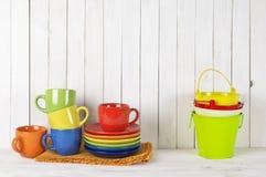 Todavía de la cocina vida colorida Imagenes de archivo