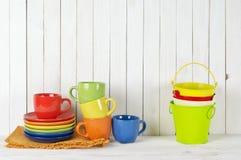 Todavía de la cocina vida colorida Foto de archivo