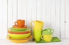 Todavía de la cocina vida colorida Fotografía de archivo