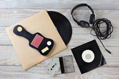 Todavía de la música vida retra Fotos de archivo libres de regalías