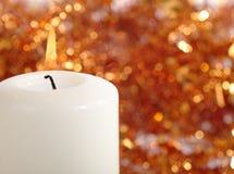 Todavía de la Navidad vida con la vela Imagenes de archivo
