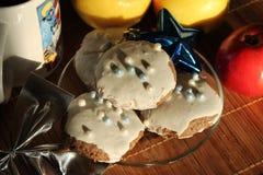 Todavía de la Navidad vida con las galletas Imágenes de archivo libres de regalías
