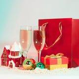 Todavía de la Navidad vida Feliz Año Nuevo Imagen de archivo
