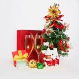 Todavía de la Navidad vida Feliz Año Nuevo Imagenes de archivo
