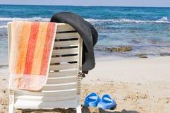 Todavía de la playa vida Imagenes de archivo